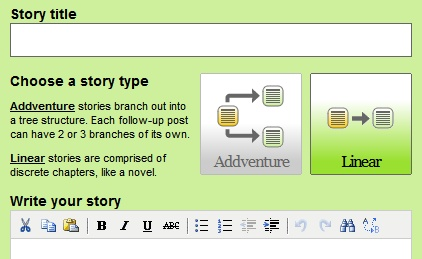 protagonize: interactive fiction & collaborative story writing community