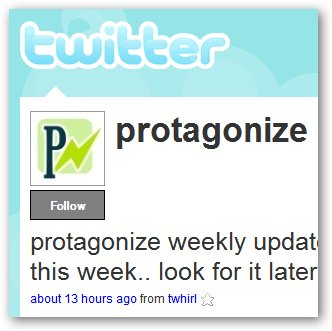 follow protagonize on twitter